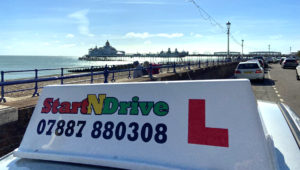 driving lessons eastbourne with snd driving instructor